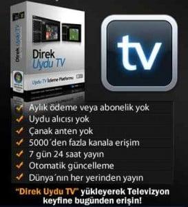 internetten televizyon izlemek